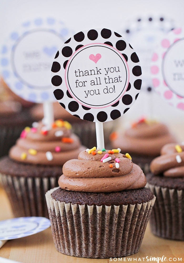 Free Cake Thankyou Printable
