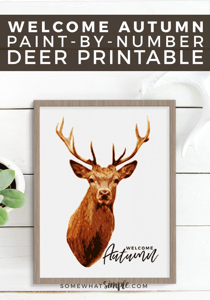 photo regarding Free Printable Decor titled Deer Prints - Totally free Printable Deer Decor - Fairly Easy