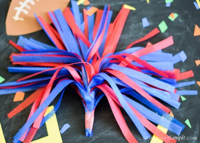 How to Make Pom Poms – A Fun Tissue Paper Craft