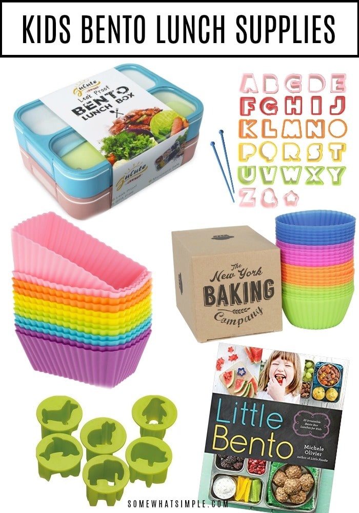 Shop for Kids Bento Lunch Supplies