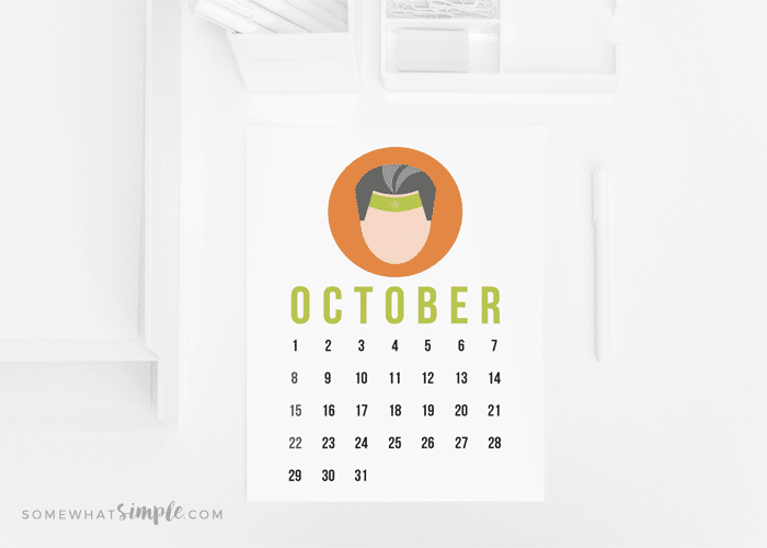 Protected: Calendar Printables