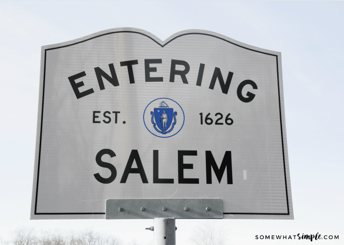 Visiting The Town of Salem