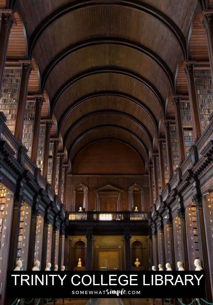 Trinity College Library Ireland
