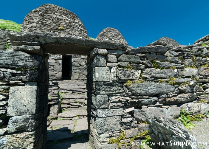 skellig Michael stone hut