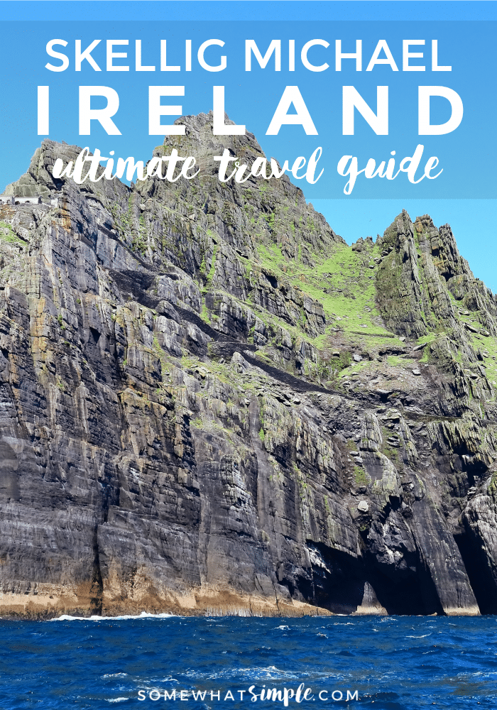 If you ever have the opportunity to travel to Ireland, Skellig Michael has to be on the top of your list of things to see while you're there. #ireland #travel #bucketlist #traveltips via @somewhatsimple