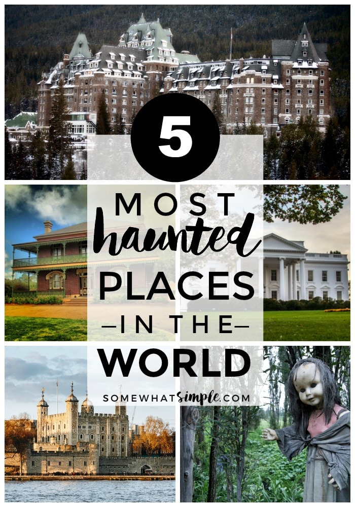 Legend has it, these 5 tourist hot spots rank among the most haunted places in the world! via @somewhatsimple