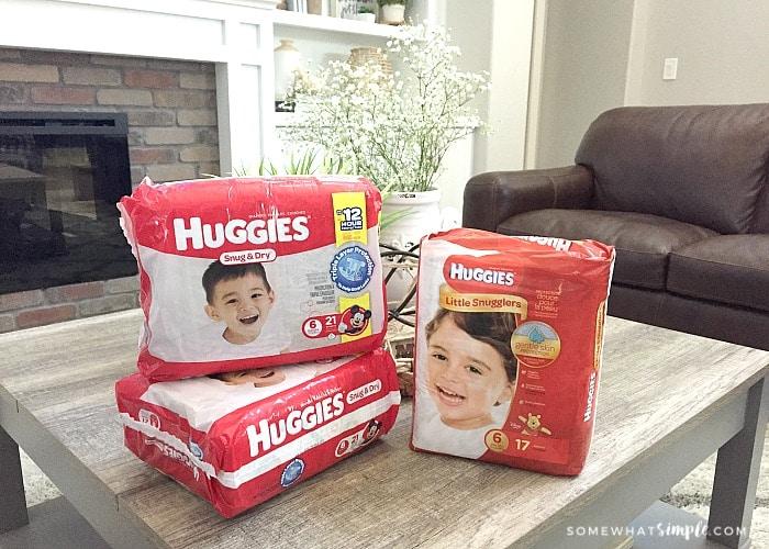 Diaper Drive Huggies Diapers
