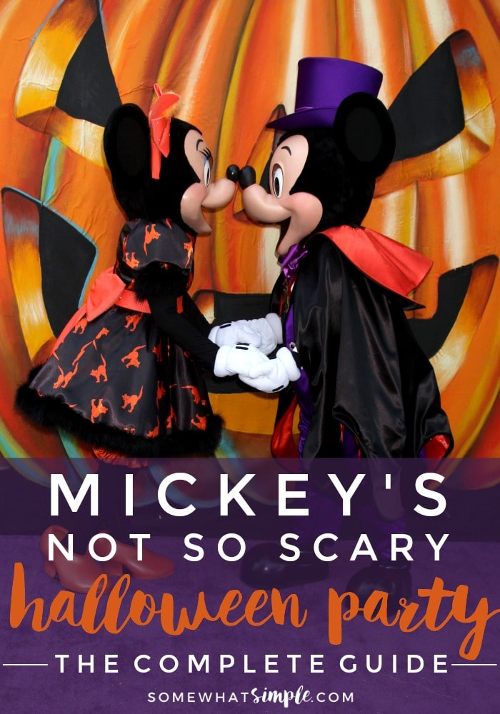 Mickey's Not So Scary Halloween Party Complete Guide