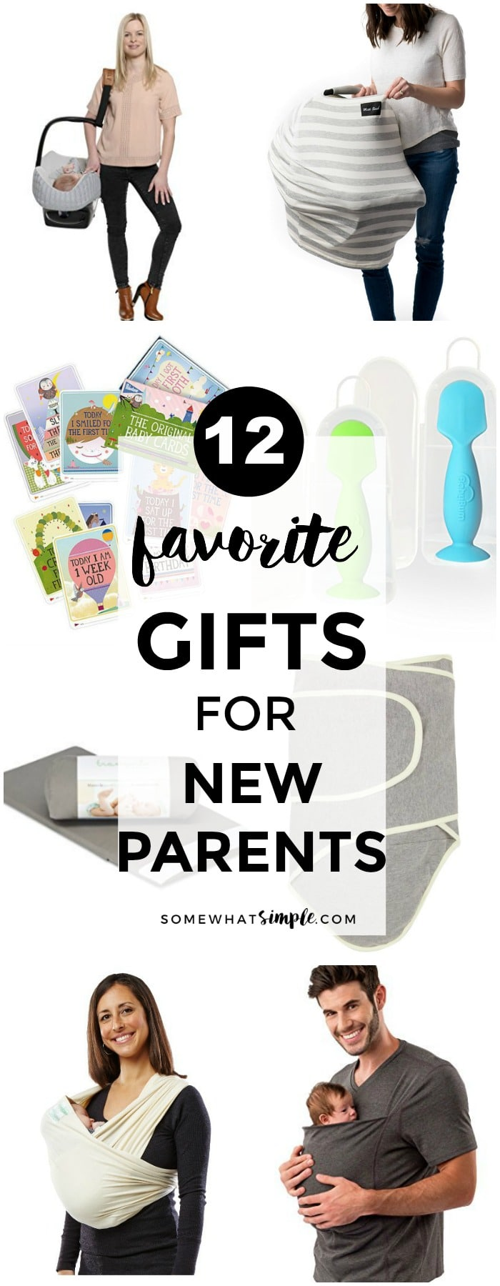 12 Favorite Gifts for New Parents