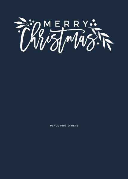 Free Christmas Card Template Ideas Somewhat Simple