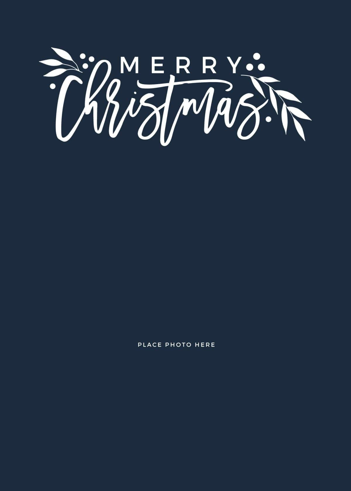 make your own photo christmas cards  for free