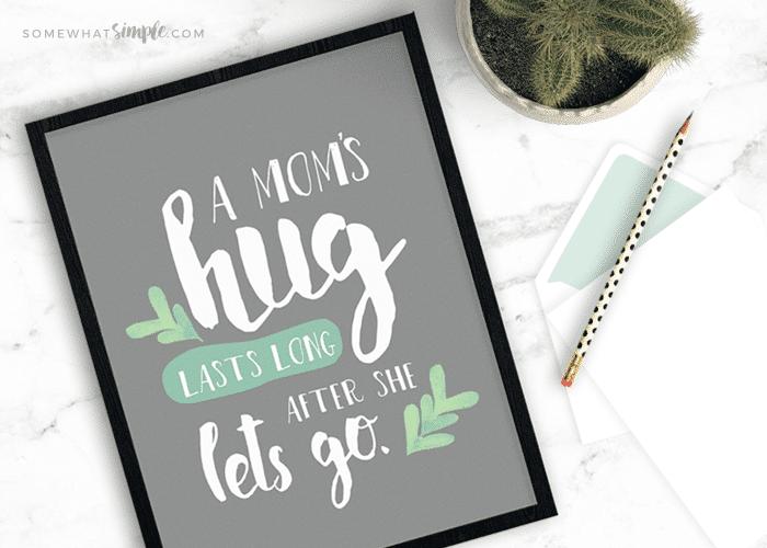 Your Brain on Hugs + Free Printable