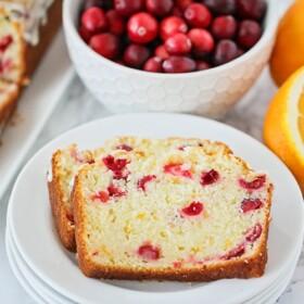 Cranberry Orange Sweet Bread recipe