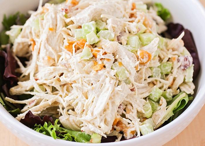The Best Chicken Salad Recipe – Crunchy Chicken Salad