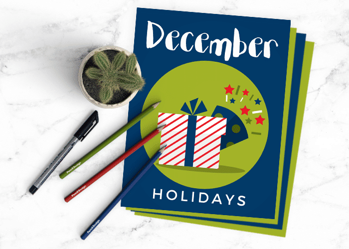 This Month's Creative Journal Pages – December 2017