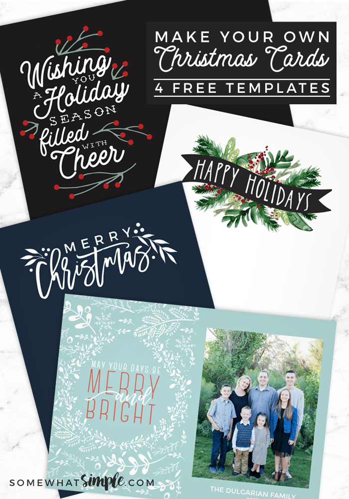 free christmas picture templates