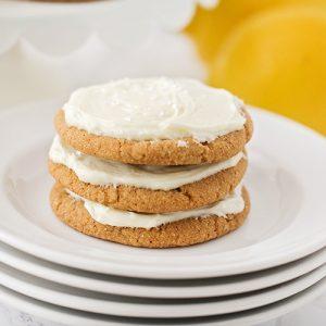Lemon Cream Ginger Cookies Recipe