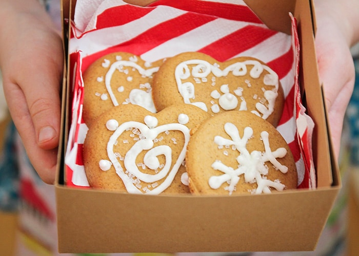 Throw a fun and special holiday baking party for the kids with Pampered Chef! Our simple gingerbread cookie recipe is easy to make, and perfect for gifting!
