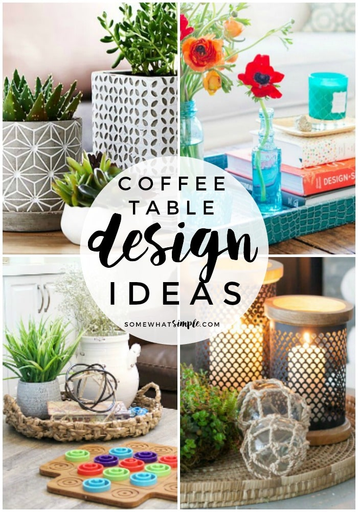coffee table decor ideas 5 Styling Tips and Coffee Table Decor Ideas   Somewhat Simple coffee table decor ideas