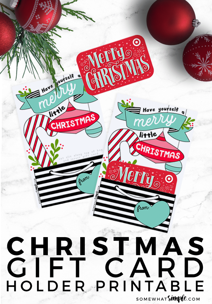 graphic relating to Printable Gift Card Holders identify Xmas Do it yourself Present Card Holder Printable - To some degree Basic