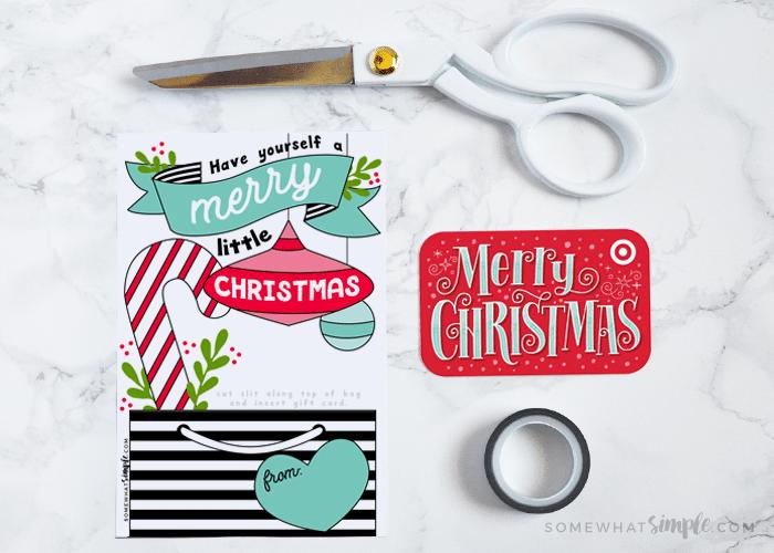Christmas diy gift card holder printable somewhat simple save solutioingenieria Choice Image