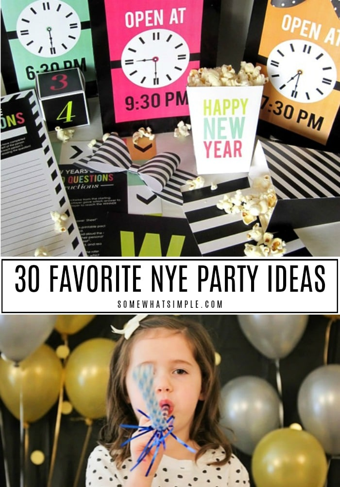 30 Favorite NYE Party Ideas
