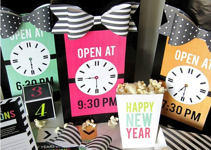 NYE Party Printables