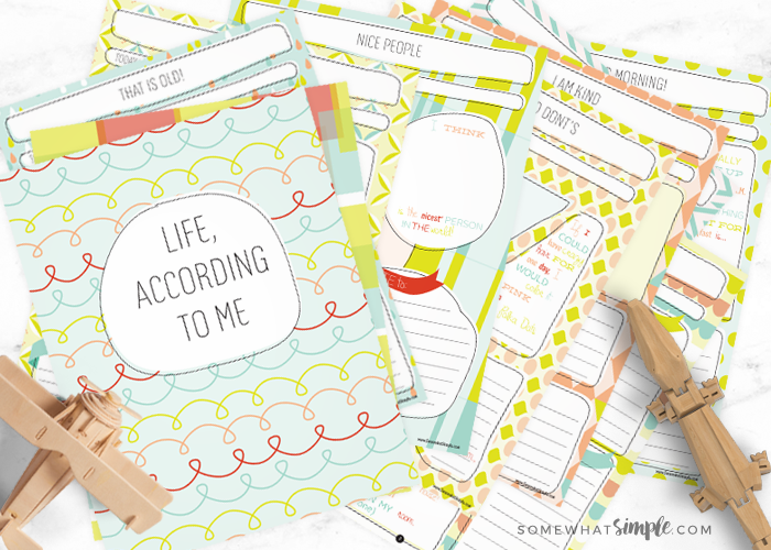 Journal for Kids – Life According to Me