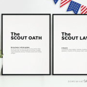 Boy Scout Oath and Law Printables