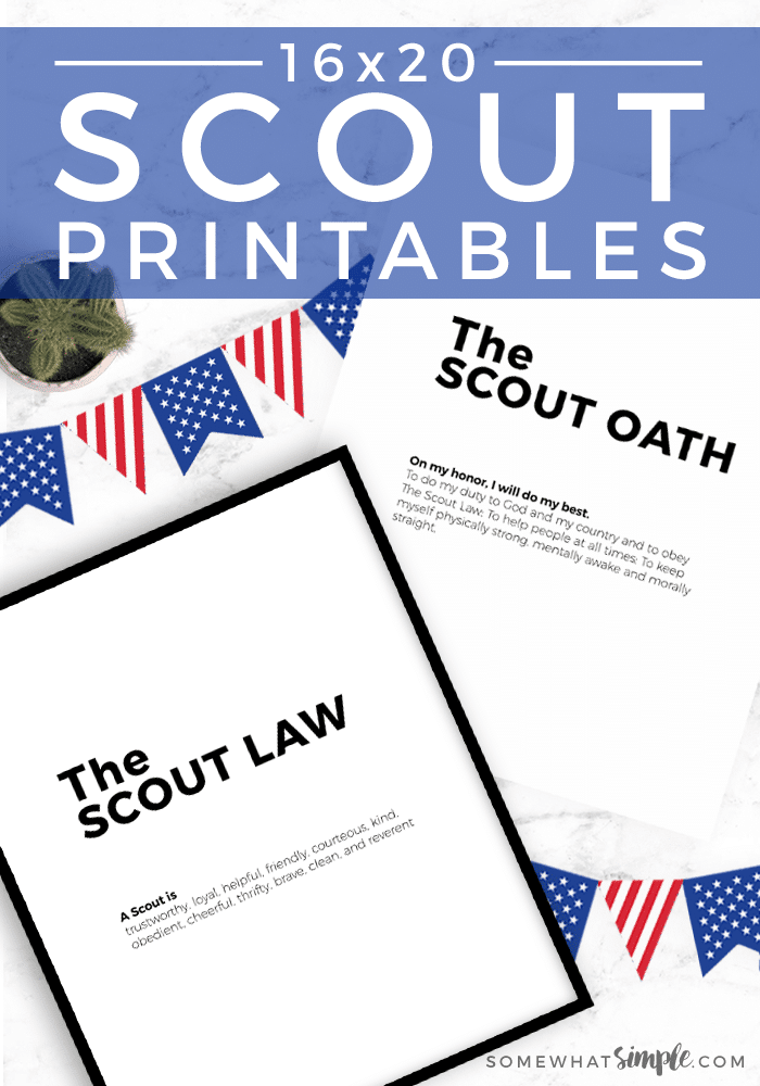graphic regarding Scout Law Printable named Boy Scout Oath and Legislation Printables - To some degree Uncomplicated