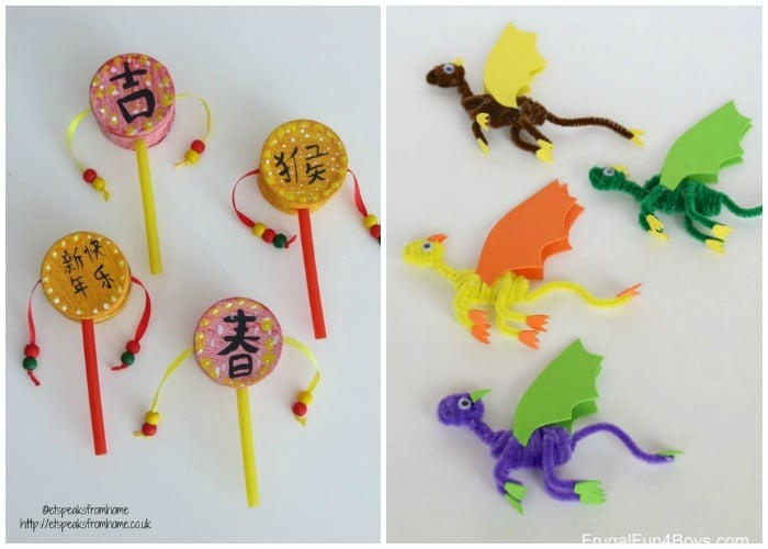 Chinese New Year Crafts for Kids - Somewhat Simple