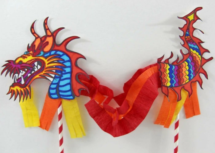 Chinese New Year Crafts For Kids Somewhat Simple