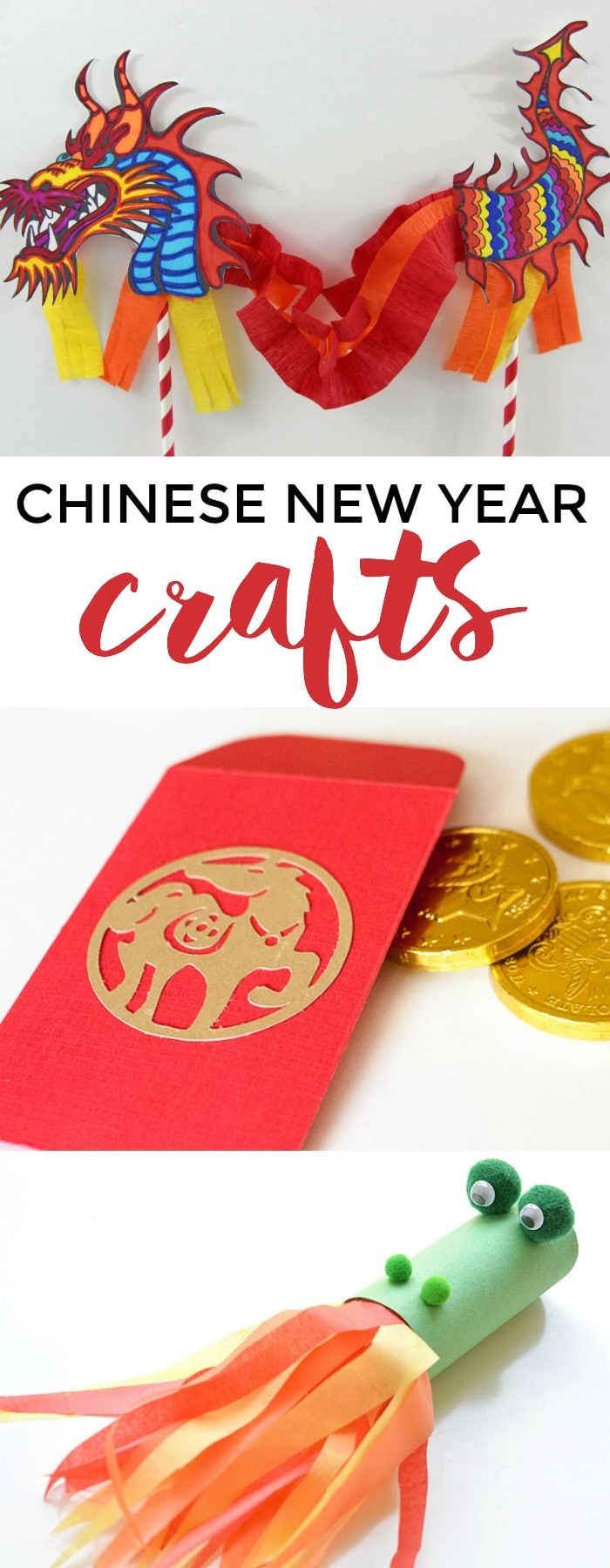 To kick off your Chinese New Year celebrations, here are 10 creative Chinese New Year crafts for kids. via @somewhatsimple