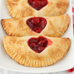 how to make easy cherry hand pies