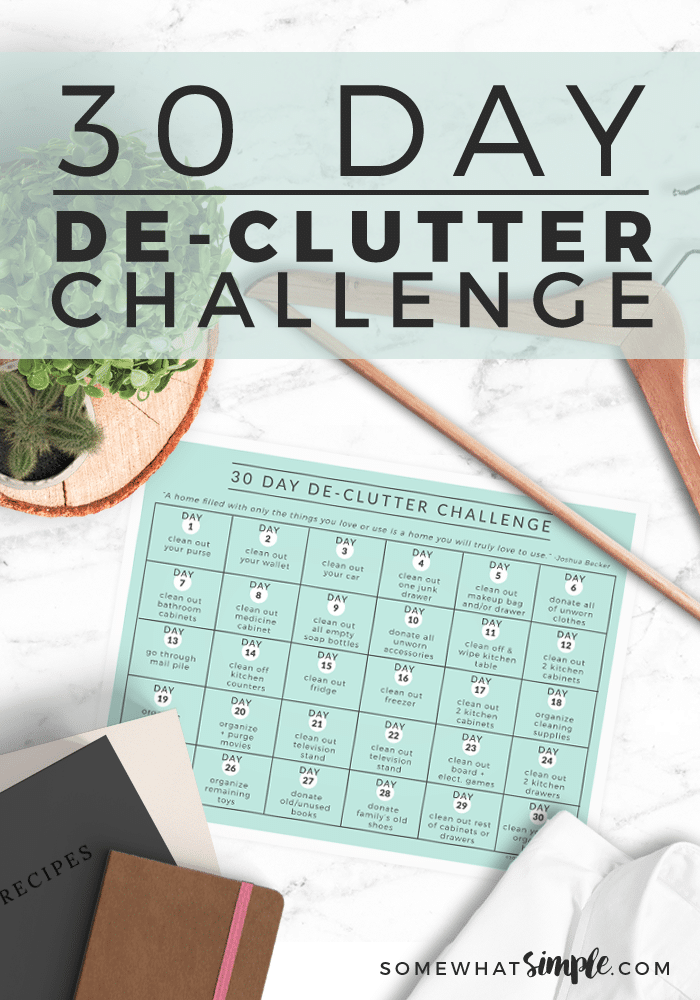 3 Home Decor Trends For Spring Brittany Stager: 30 Day Declutter Challenge + Free Printable