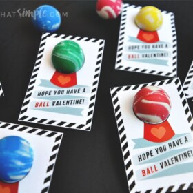 Have a Ball Valentines Cards for Kids