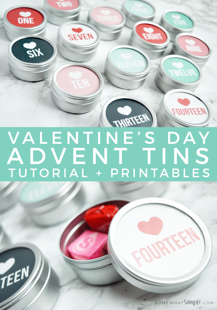 Valentine's Day Countdown: Tutorial + Free Printables! Kids are going to love counting down the days until Valentines with this adorable and simple magnetic Valentine's Day Countdown! #countdown #valentine #valentinesday #advent #printable via @somewhatsimple