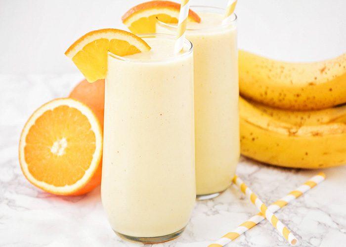 Orange Creamsicle Smoothie – A Healthy Orange Creamsicle Drink