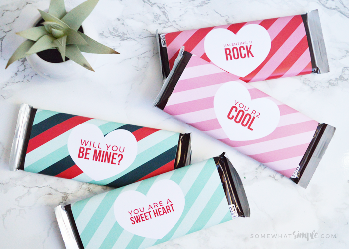 Valentine Candy Bar Wrappers – Free Printables!