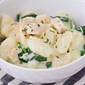 Spinach Chicken Gnocchi Recipe- Easy and Delicious!