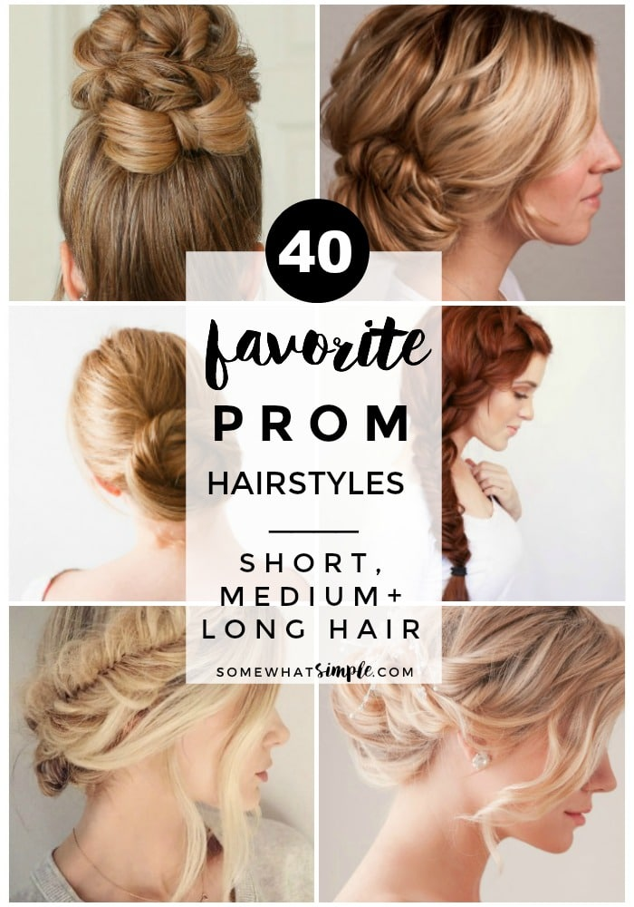 40 Favorite Prom Hairstyles
