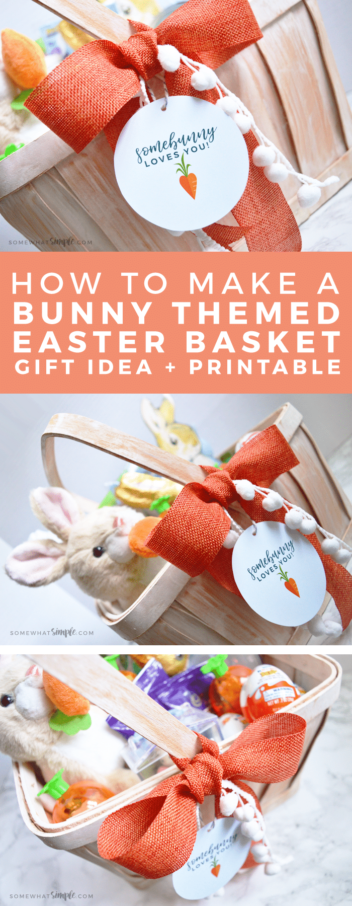 3 themed easter baskets printable tags somewhat simple 3 favorite themed easter baskets and how to create a special gift for friends neighbors negle Choice Image