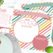 Easter Placemats Printables