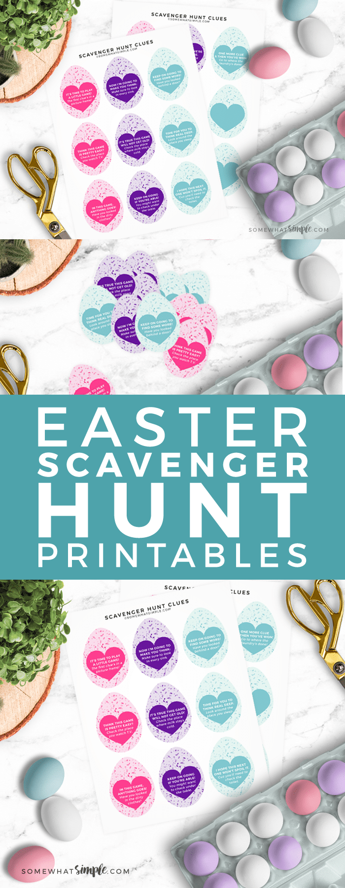 A fun twist on a classic Easter Egg Hunt, this Easter Scavenger Hunt is the perfect activity for kids of all ages!
