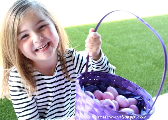 Easter egg hunt - Easter Scavenger Hunt