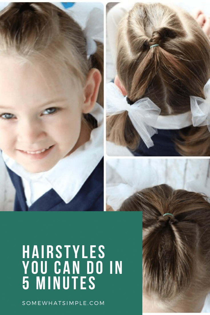 10 Easy Little Girls Hairstyles 5 Minutes Somewhat Simple