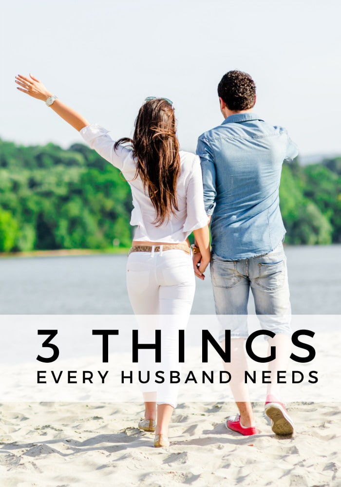 How to be a good wife - 3 things every husband needs
