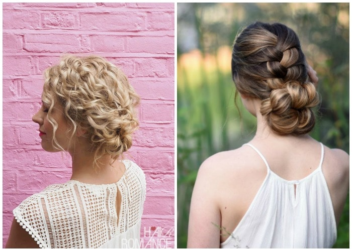 Prom Updo for Medium Hair