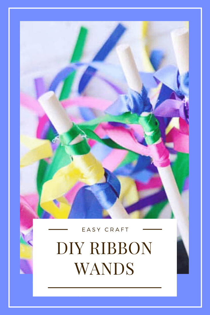 These DIY ribbon wands are so easy to make, they're ready in just 5 minutes. All you need are a couple simple materials and they'll be ready to use at home, for dance, a wedding or any other fun occasion. Here is a simple and easy tutorial on how to make ribbon wands that your kids will love! #ribbonwands, #howtomakeribbonwands #ribbonwandsforkids #streamerwands #DIYdanceribbonwand #weddingribbonwands via @somewhatsimple