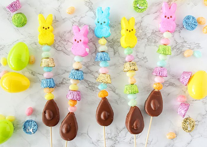 Easy Easter Treats - Easter Candy Kabobs